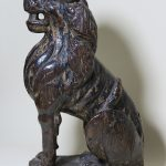 31. Wooden lion. 16th century.