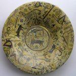 37. Bowl Persia 10th century. Ceramic