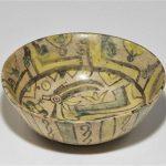 39. Ibex Bowl. Persia 10th century. Ceramic