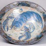 43. Lobster bowl. Roger Cockram. Ceramic