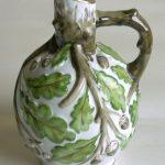 44. Oak tree vase. Leningrad State Porcelain factory (c1930)