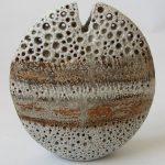 47. Pebble vase. Alan Wallwork. Ceramic