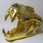 7. Martin Hayward-Harris. Gilded sculpture.