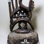 73. Antelope headdress. Bamana tribe (Mali)