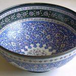 74. Enameled copper bowl. Sani Zadeh (Iran 1963)_