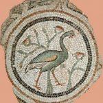 80. Peacock. Byzantine Mosaic