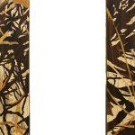 85. Forest Mirror. Alardus van den Bosh (Holland). Intarsia