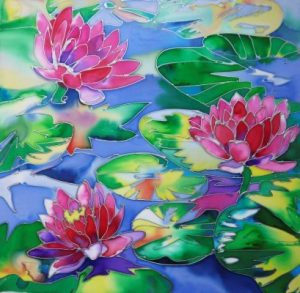 Silk Painting - Jackie Cox @ Nature in Art
