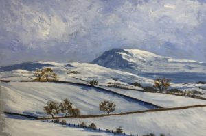 Impressionist Autumn and Winter Landscapes with Acrylic - Jonathan Newey @ Nature in Art