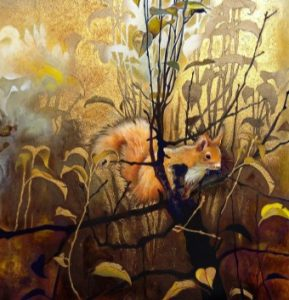 Embellishing your Paintings with Gold-leaf - Claudia Hahn @ Nature in Art