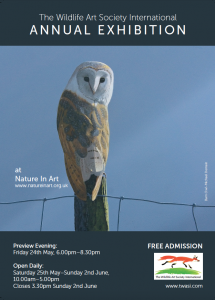The Wildlife Art Society @ Nature in Art