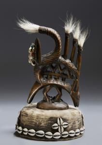 Chi Wara tribe (Mali). Early twentieth century. Headdress.