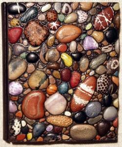 George Kirkpatrick (British). Alphabet of Stone bookbinding. Leather.